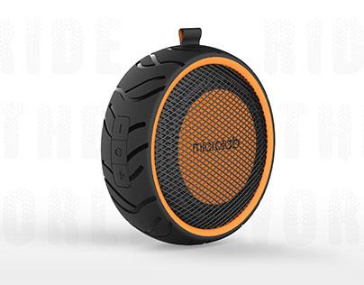 Portable Bluetooth Speaker--Tire