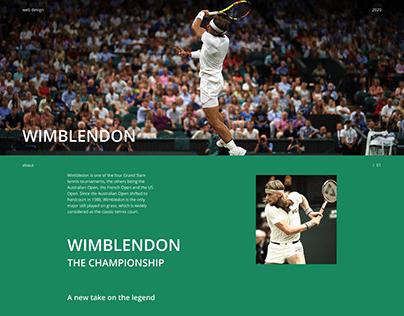 Wimblendon   Landing page