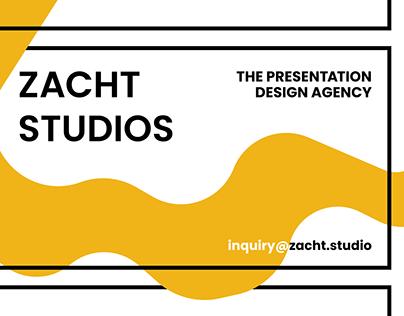 Zacht Studios Rebrand