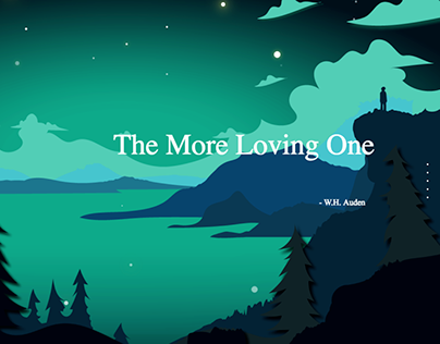 The More Loving One (Poem Website Design)