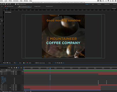 Mountaineer Coffee Motion Graphics