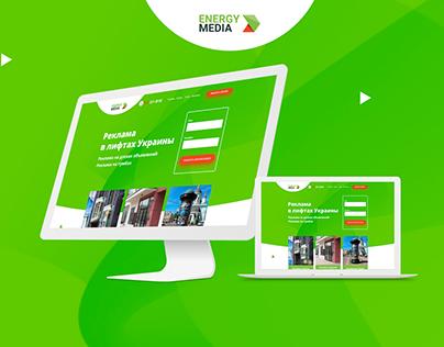 Energy Media Website Design