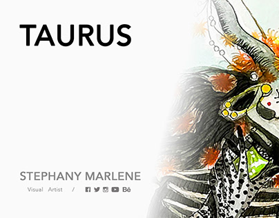 TAURUS · Miss Catrina 13 Zodiac Signs Collection