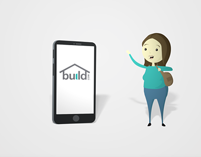 Build.com app Animation