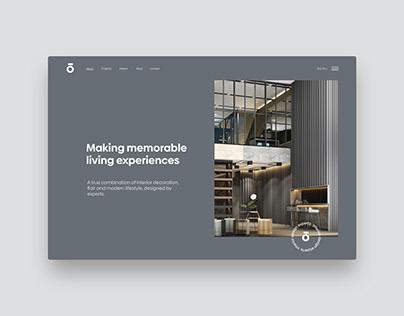 omnis Interior Webdesign