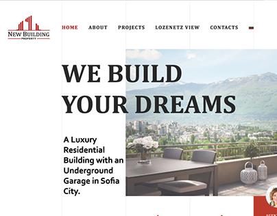 New Building Property - Website