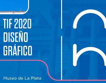 Museo De La Plata - Sistema de identidad (TIF UADE2020)