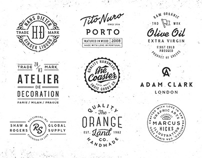 Logo/Badge Templates Vol.5