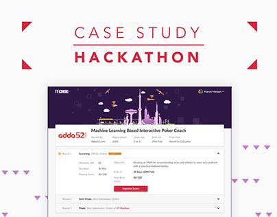 Hackathon Redesign | Techgig.com