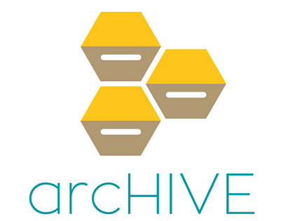 arcHIVE, brand proposal for archiving services
