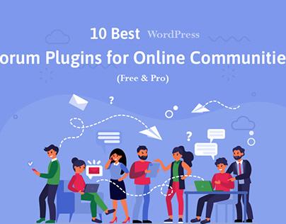 10 Best WordPress Forum Plugins for Online Communities