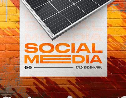 Social Media | Taldi Engenharia 2021