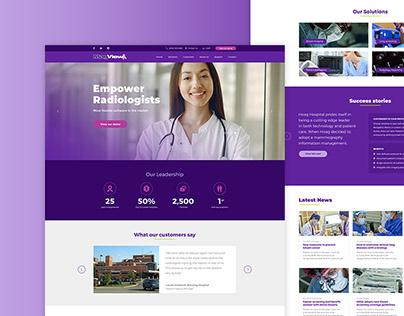 Healthcare Responsive Website