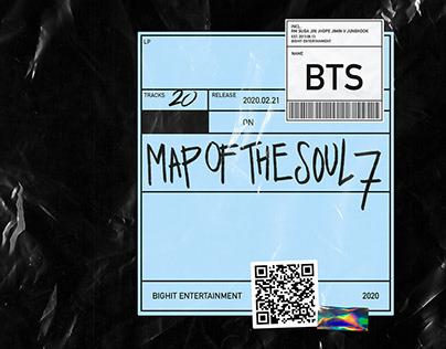 "BTS ""MAP OF THE SOUL '7' Album"" Re-Design"