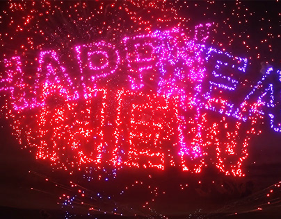 Fireworks New Year Countdown for After Effects