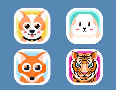 Animal App Icons