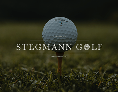 Stegmann Golf   Brand Identity