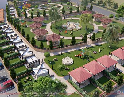 Ansar Manucipality Public Garden