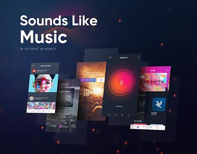 App Design   Sounds Like Music