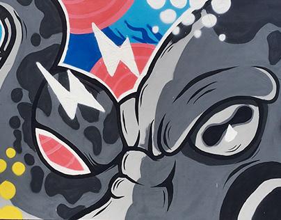 Octopop Mural