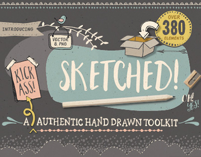 Sketched! Hand drawn graphic toolkit