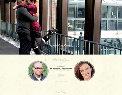 Our Wedding Website (Wordpress MultiSite)