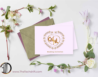 Customized Wedding Logo