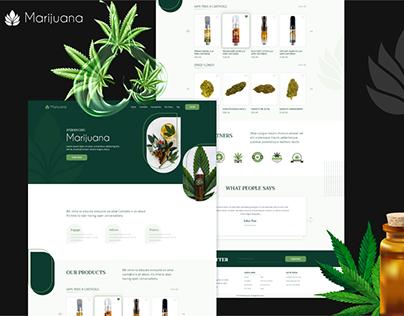 Marijuana Landing Page