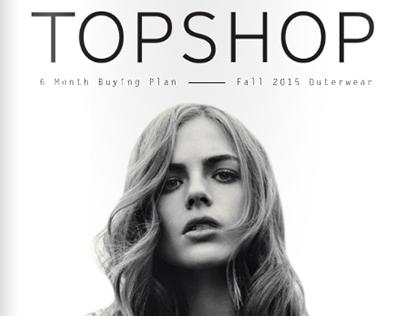 TOPSHOP 6 Month Buying Plan