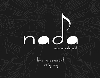 Nada - Musical Note Font - FREE