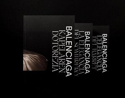 Balenciaga. The elegance of the hat