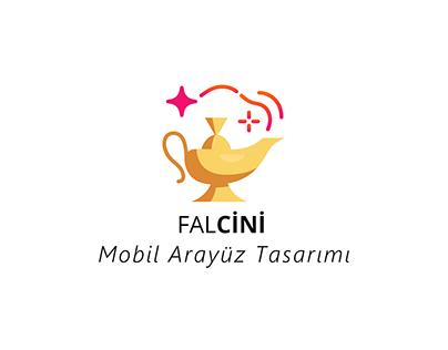 Falcini Mobil Arayüz Tasarımı