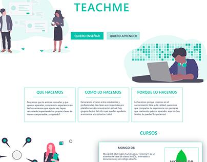 Simple ui e-learning