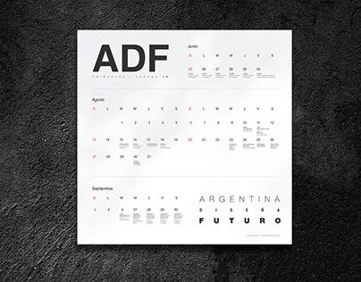 ADF S/S ´18 Calendar