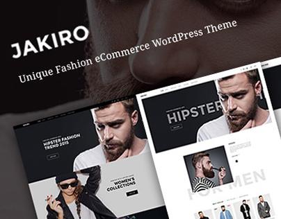 Freebie: Jakiro – fashion shop PSD template