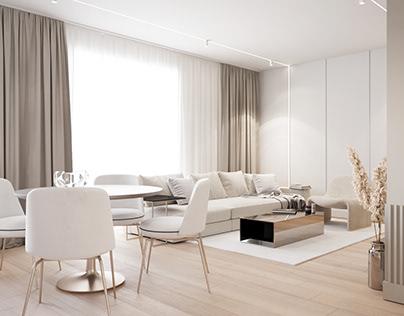 Bright, modern apartment | Warsaw