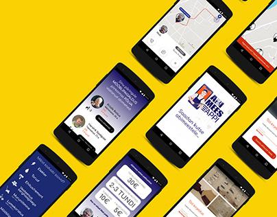 Branding and Prototype for Handyman Service App