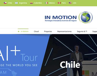 Sitio Corporativo InMotion