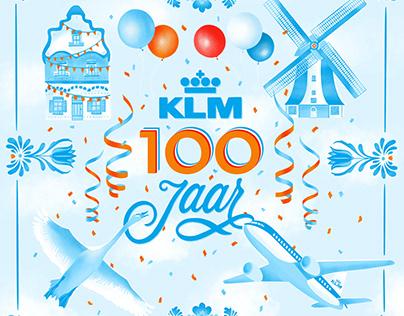 KLM 100 jaar