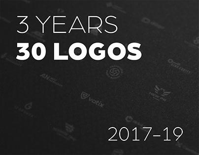 3 years | 30 logos