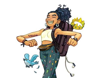 Princesse Backpacker