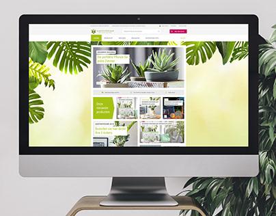 Gartenträme ecommerce website