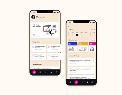 Todo-List App UI Shot