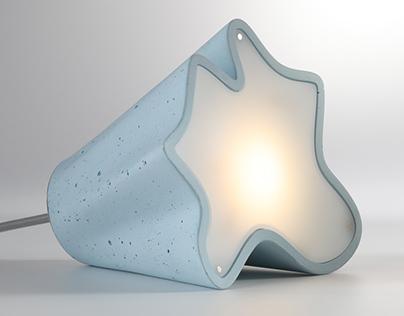 STEM- Dynamic concrete light fixture