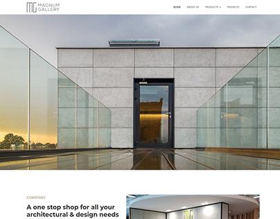 Interior Design Website UI/UX - Clean & Minimal