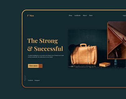 F'Men Store - Landing page