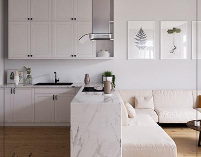Minimalist Apartment Flat