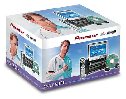 Pioneer DVD Navigation Packaging