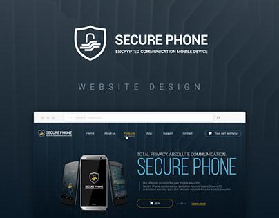 Secure phone - website redesign