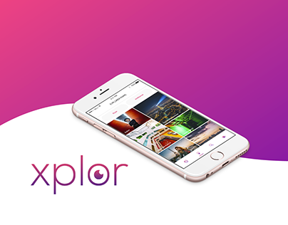 Xplor App - Adobe Icon Contest XD